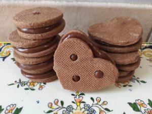 Sablés au chocolat et Caramel beurre Salé